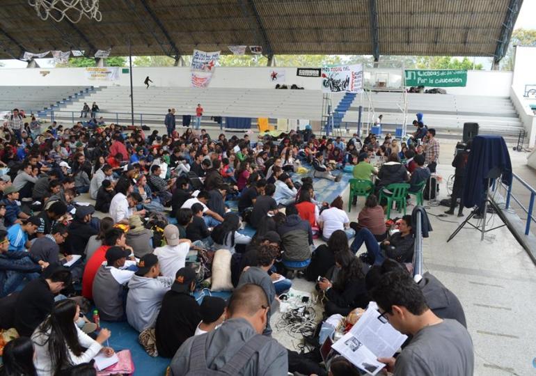 Estudiantes de U. públicas y privadas le apuestan a lucha por la educación Superior