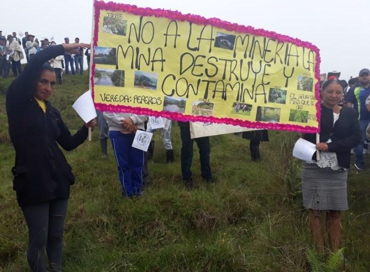 Comunidades exigen a la Corte Constitucional no modificar consultas populares