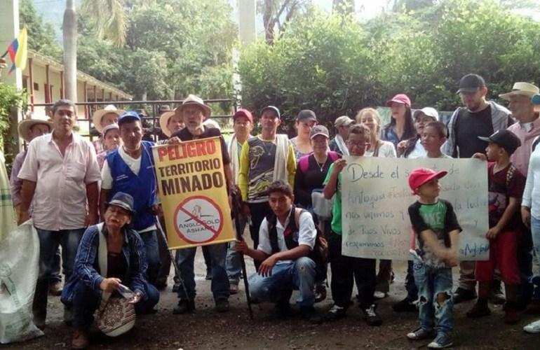 Comunidades del suroeste antioqueño unidas en rechazo a exploración minera