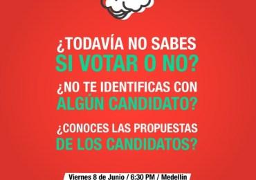 """Jóvenes realizan """"conversada electoral"""" para defender la paz, la vida y las libertades"""