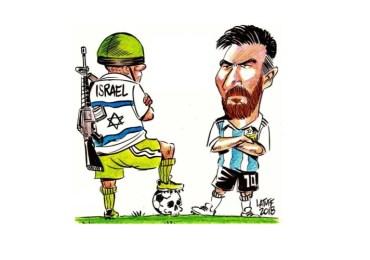 Piden a Messi y Argentina no jugar amistoso contra Israel