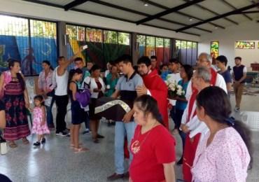 """""""Hoy sembramos vida"""" acto de entrega de desaparecidos en Medellín del Ariari"""