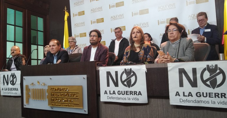 No permitiremos una intervención militar en Venezuela:Bancada Alternativa