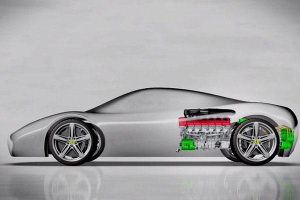 Nova Ferrari Enzo será híbrida com sistema hy_kers