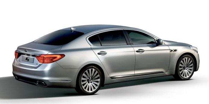 novo kia k9 sedan de luxo que será vendido na coréia foto 2