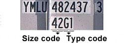 Mã kích thước và mã kiểu container