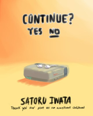 Thank-You-Iwata-Continue-Game