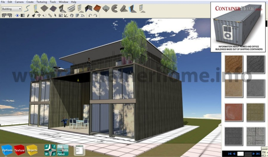 3D ISBU Shipping Container Home Design Software   Shipping Container     f