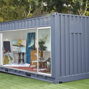 Recycled Shipping Containers - Container King Thailand - Converted Shipping Container dayroom