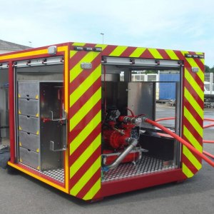 Emergency Shelter Tornado Housing Converted Shipping Container