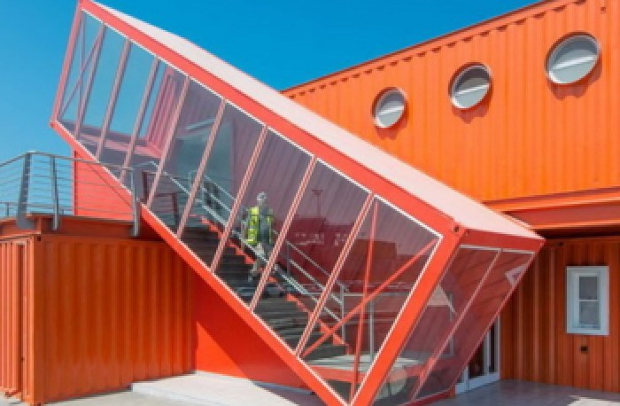 Recycled Shipping Containers - Container King Thailand - Converted Shipping Container Office
