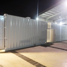 40ft Equipment Enclosure