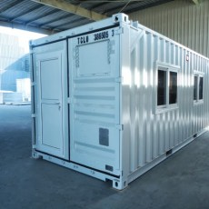 Mobile control room with lifting pad eyes