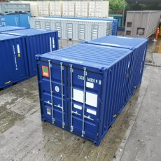 20ft Duocon Container - Exterior