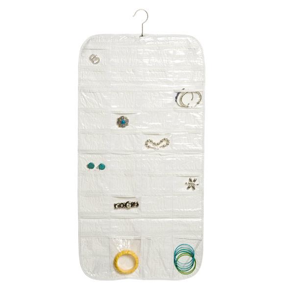 80-Pocket Hanging Jewelry Organizer