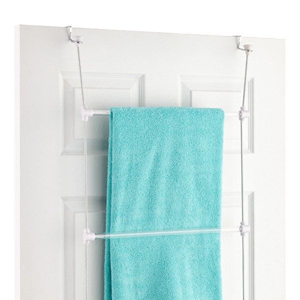 umbra bungee over the door towel rack