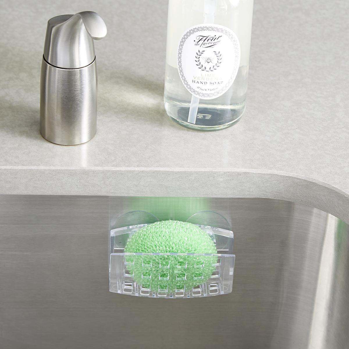 idesign suction sponge holder