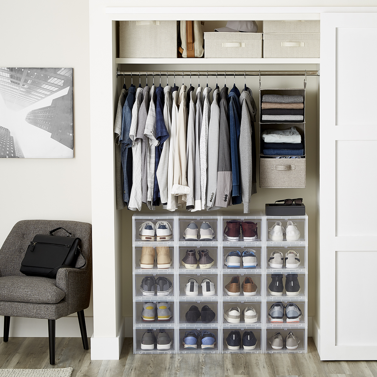 Men S Small Closet