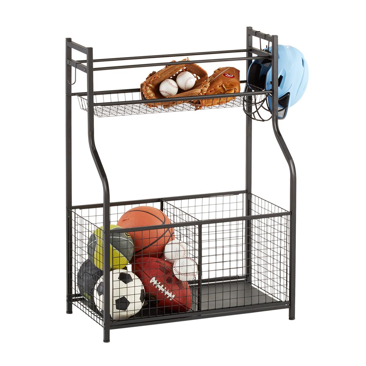 heavy duty sports storage rack