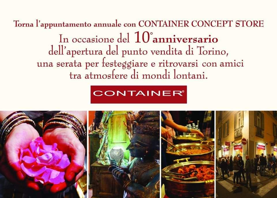 Festa Container Concept Store Torino