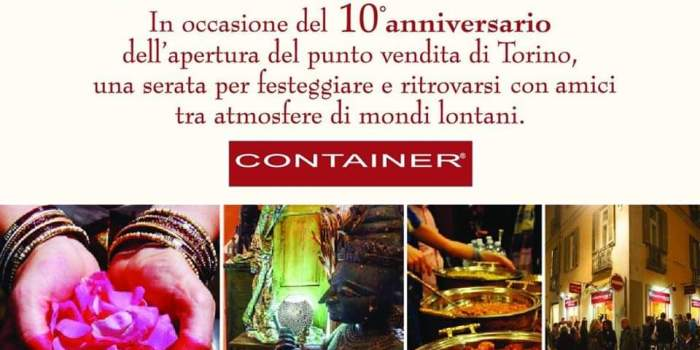 10° Anniversario Container Concept Store: La FESTA!
