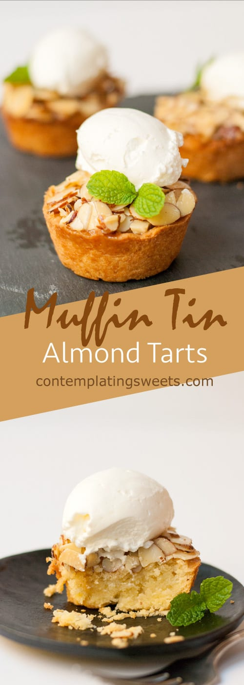 Muffin Tin Almond Tart