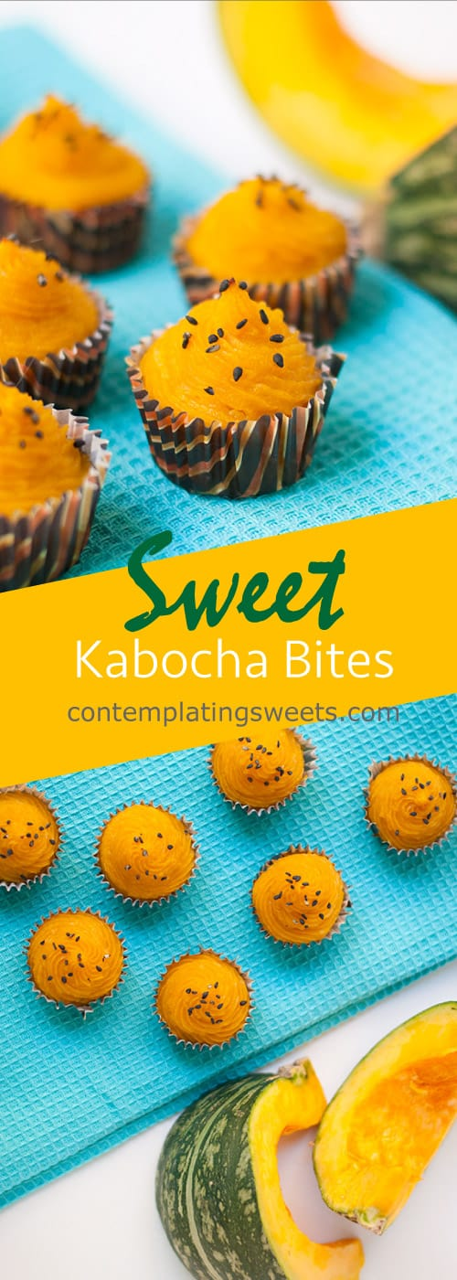 Sweet Kabocha (Japanese pumpkin) bites
