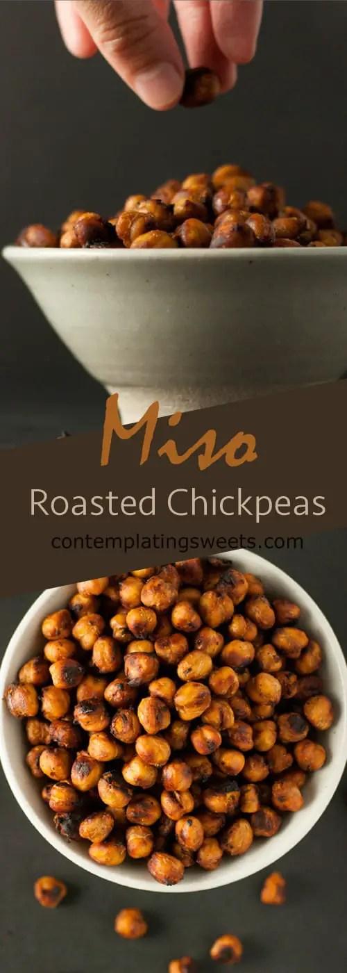 Miso Roasted Chickpeas