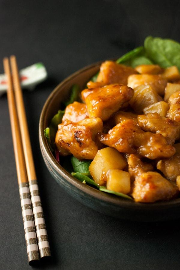 Teriyaki Chicken and Potatoes