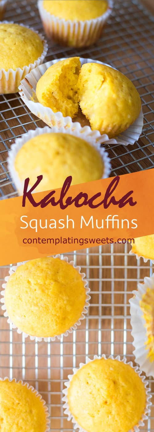 Kabocha squash muffins are sweet with a hint of savory. The flavor profile and the recipe are simple. Kids can help make these, and you can feel good about letting them eat it!