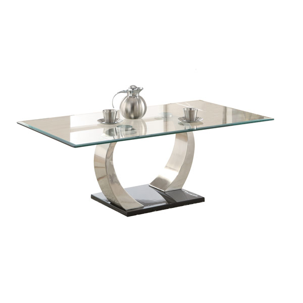 arches coffee table contemporary