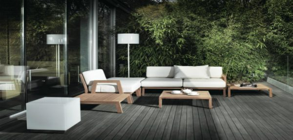 outdoor floor lamps to use in a deck or