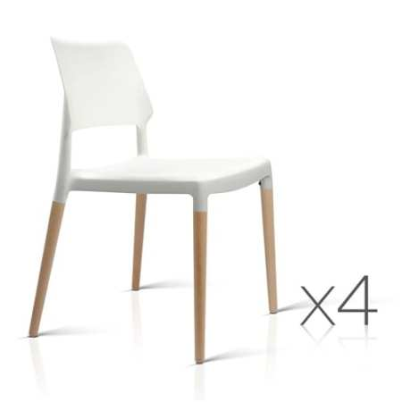 Belloch Replica Dining Chair White | 4