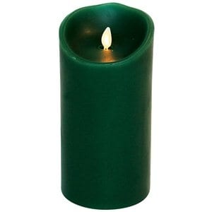 Large Wax Flicker LED Candle | Luminara