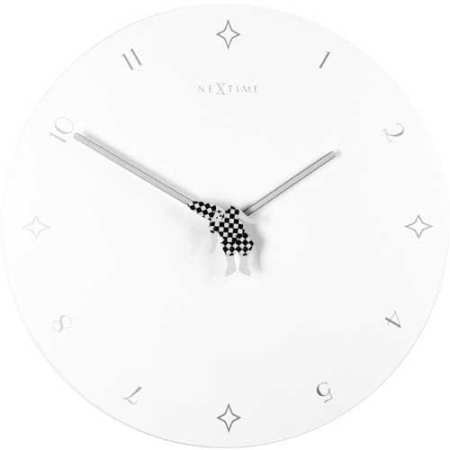 Jumping Jack Wall Clock by NeXtime