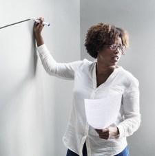 Black female professor