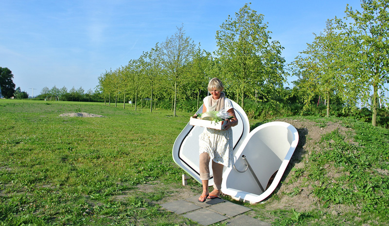 Ground Fridge by Floris Schoonderbeek for Weltevree
