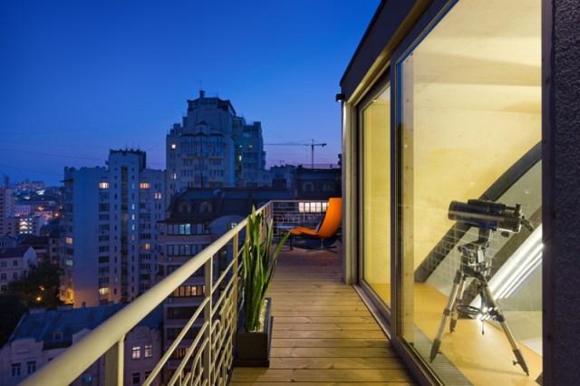 Ukraine Apartment Roof Structure