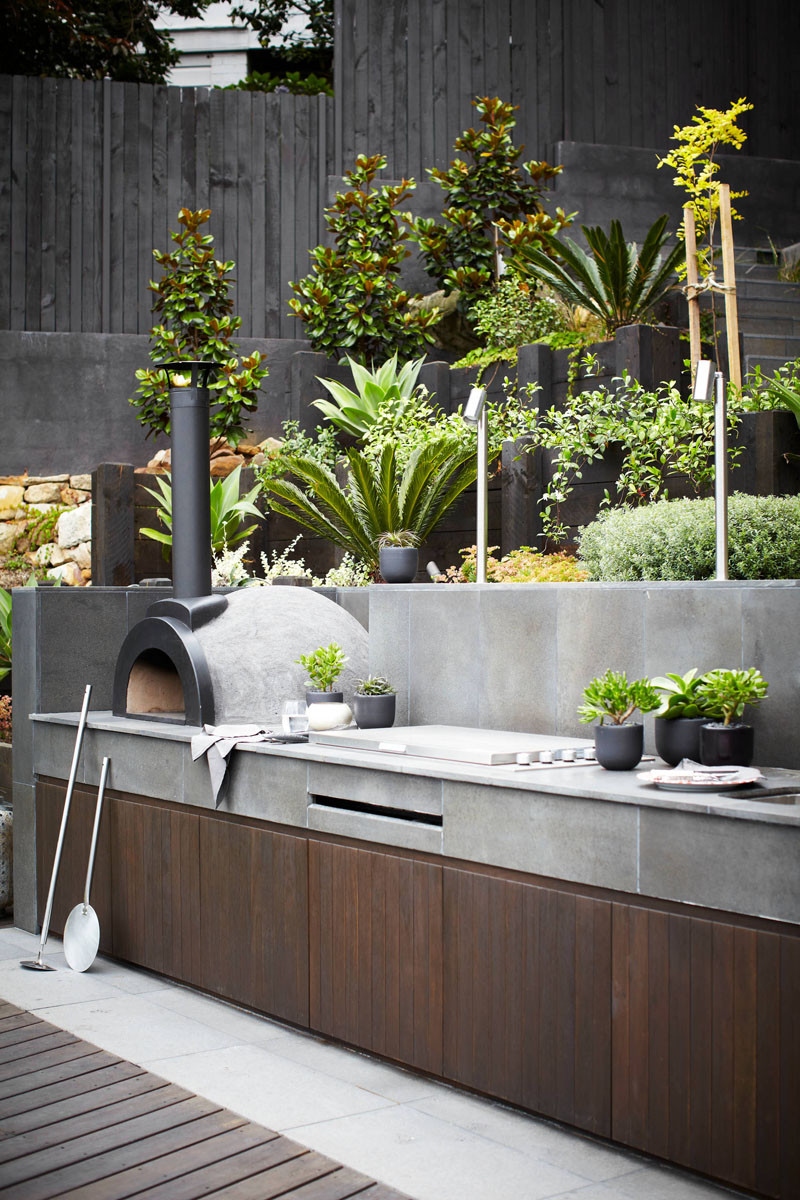 10 Awesome Outdoor BBQ Areas That Will Get You Inspired ... on Patio Grilling Area  id=58562