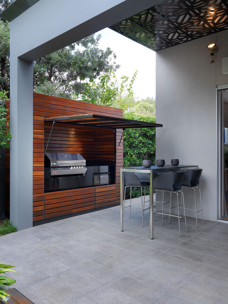 10 Awesome Outdoor BBQ Areas That Will Get You Inspired ... on Patio Grilling Area  id=24968