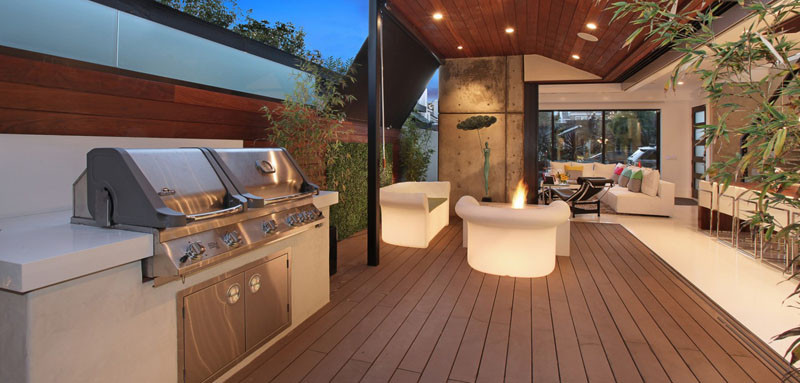 10 Awesome Outdoor BBQ Areas That Will Get You Inspired ... on Patio Grilling Area  id=70307