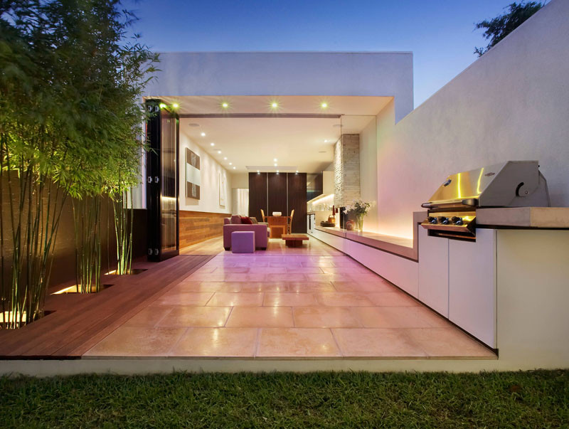 10 Awesome Outdoor BBQ Areas That Will Get You Inspired ... on Patio Grilling Area  id=78288