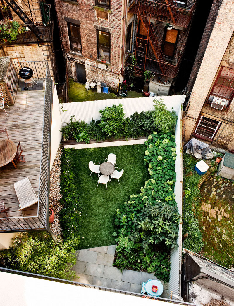 16 Inspirational Backyard Landscape Designs As Seen From Above on Small Patio Design Ideas  id=23420