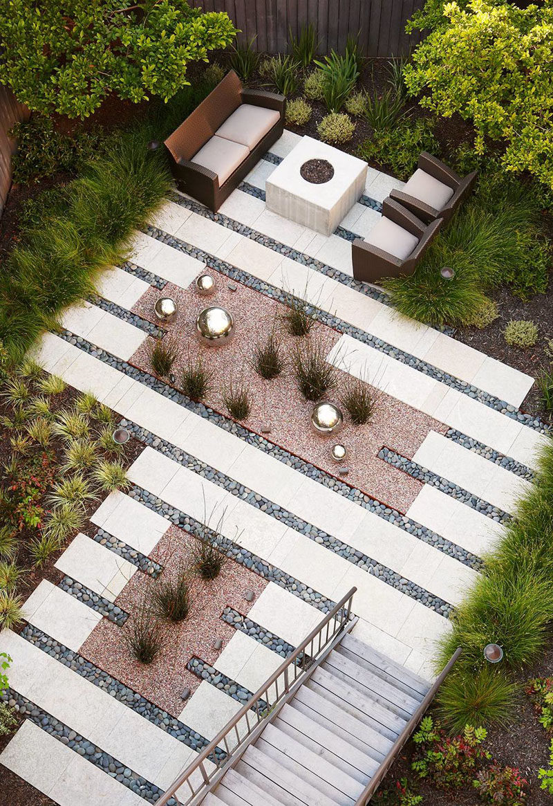16 Inspirational Backyard Landscape Designs As Seen From Above on Backyard Lawn Designs  id=24256