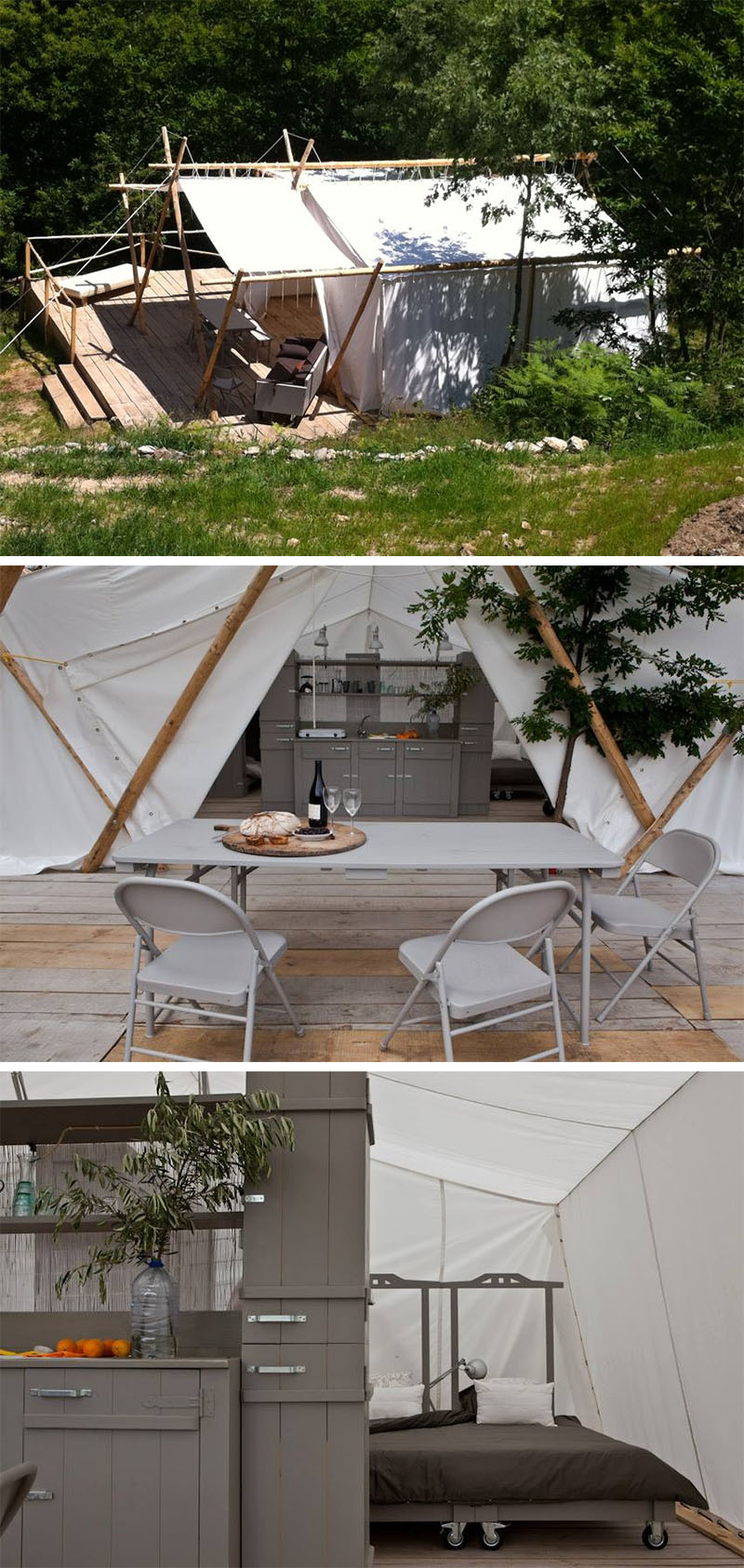 10 Glamping Destinations For People Who Want To Go Camping