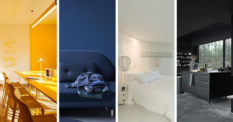 10 Bold Examples Of Monochromatic Interiors CONTEMPORIST