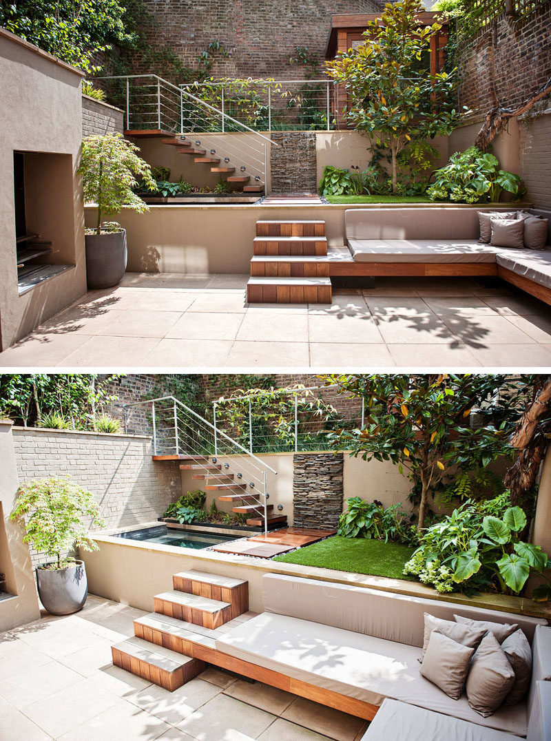 13 Multi-Level Backyards To Get You Inspired For A Summer ... on Small Backyard Renovation Ideas id=15329