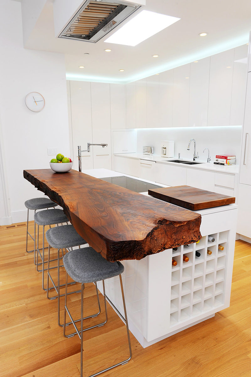 Kitchen Design Idea - 5 Unconventional Materials You Can ... on Modern:egvna1Wjfco= Kitchen Counter Decor  id=62630
