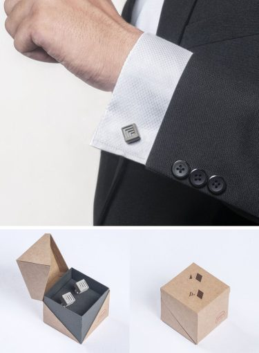 40 Gift Ideas For Architects And Interior Designers   CONTEMPORIST 40 Awesome Gift Ideas For Architects And Interior Designers    Concrete  cuff links show that