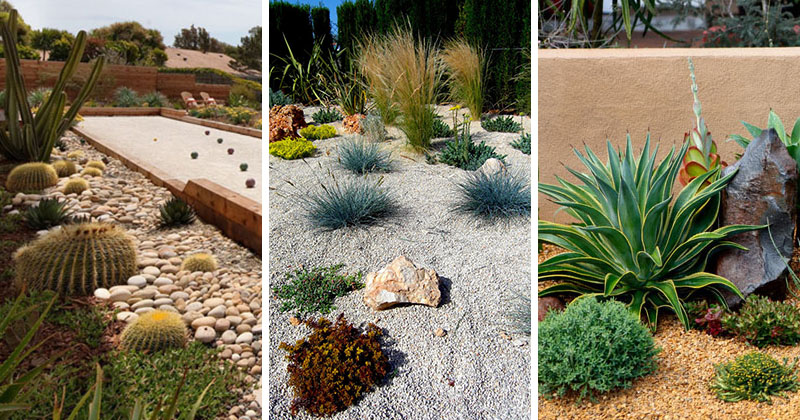 11 Inspirational Rock Gardens To Get You Planning Your ... on Rock Backyard  id=24942
